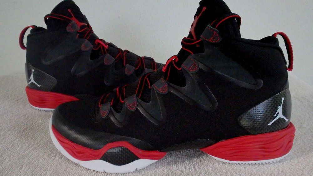 c1decb261dfcb6  616345-001  NIKE AIR JORDAN 28 XX8 SE GYM RED-WHITE-ANTHRACITE-BLK MEN  SHOES S9  Nike  BasketballShoes