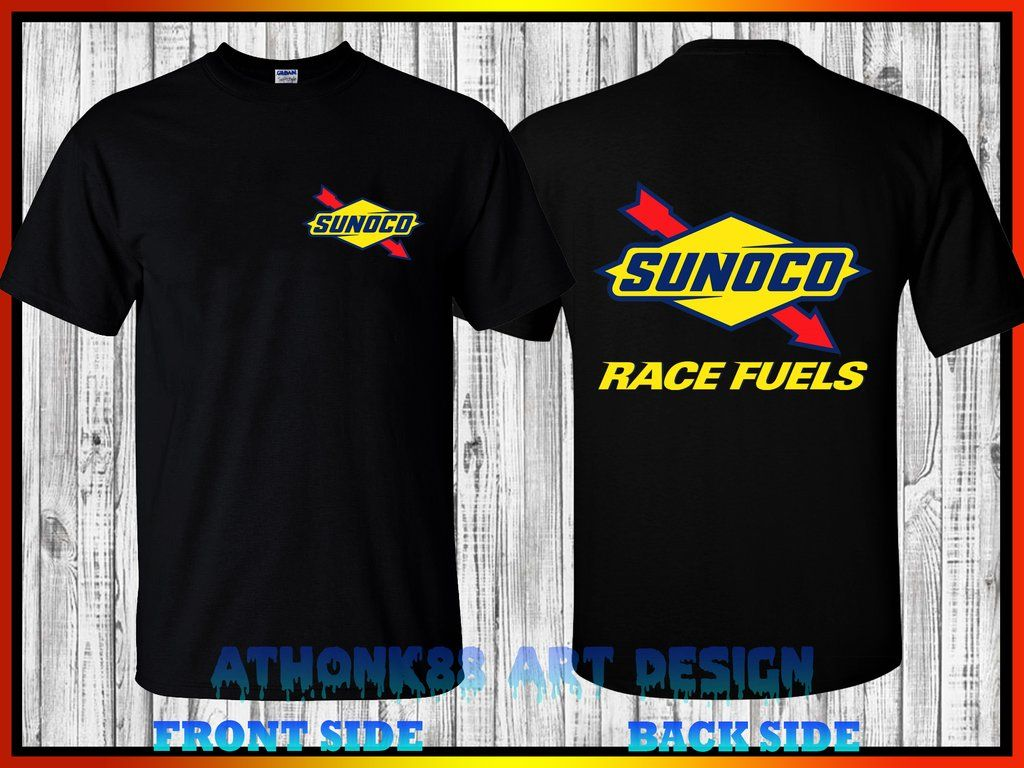 Sunoco Race Fuel T Shirt Sunoco Race Fuel Nhra Drag Racing T Shirt Drag Racing T Shirts Mens Plain T Shirts Shirts