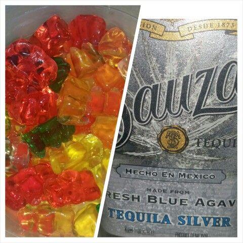 Tequila Gummy Bears