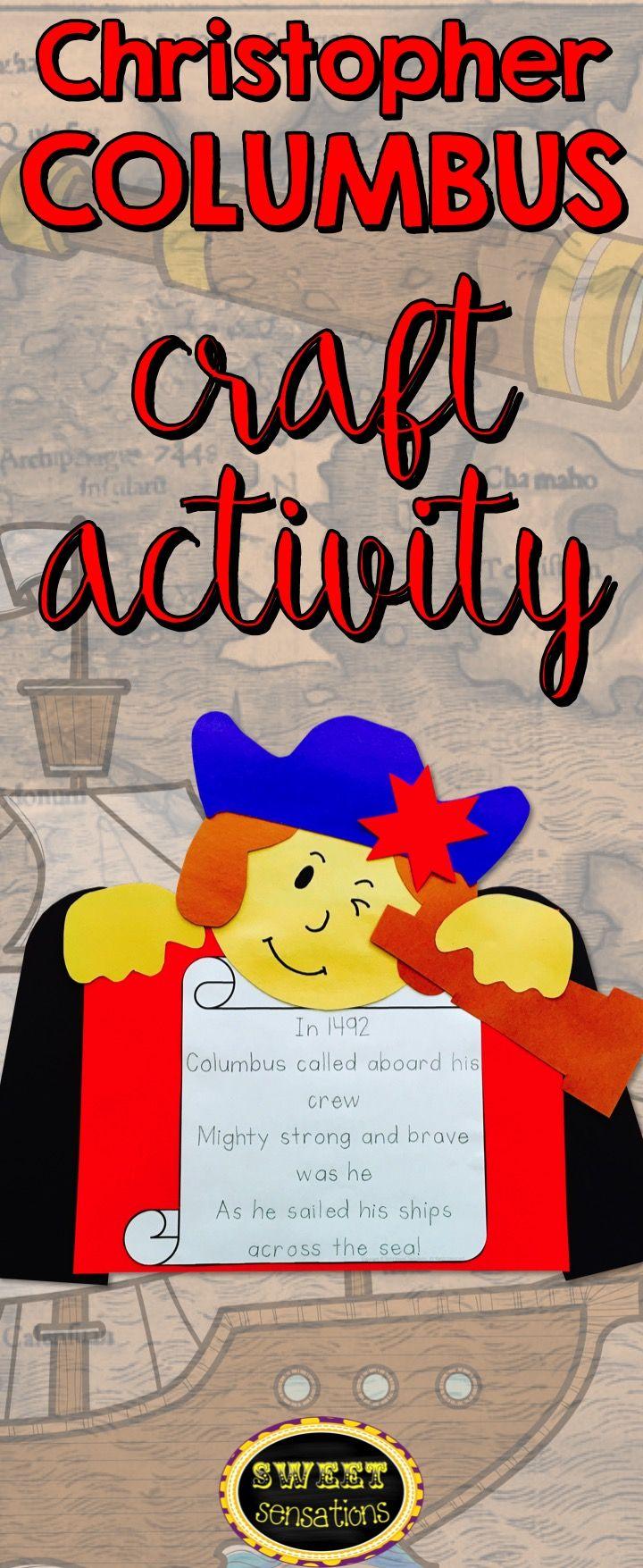 001 Christopher Columbus Craft Activity Mandy Bledsoe's