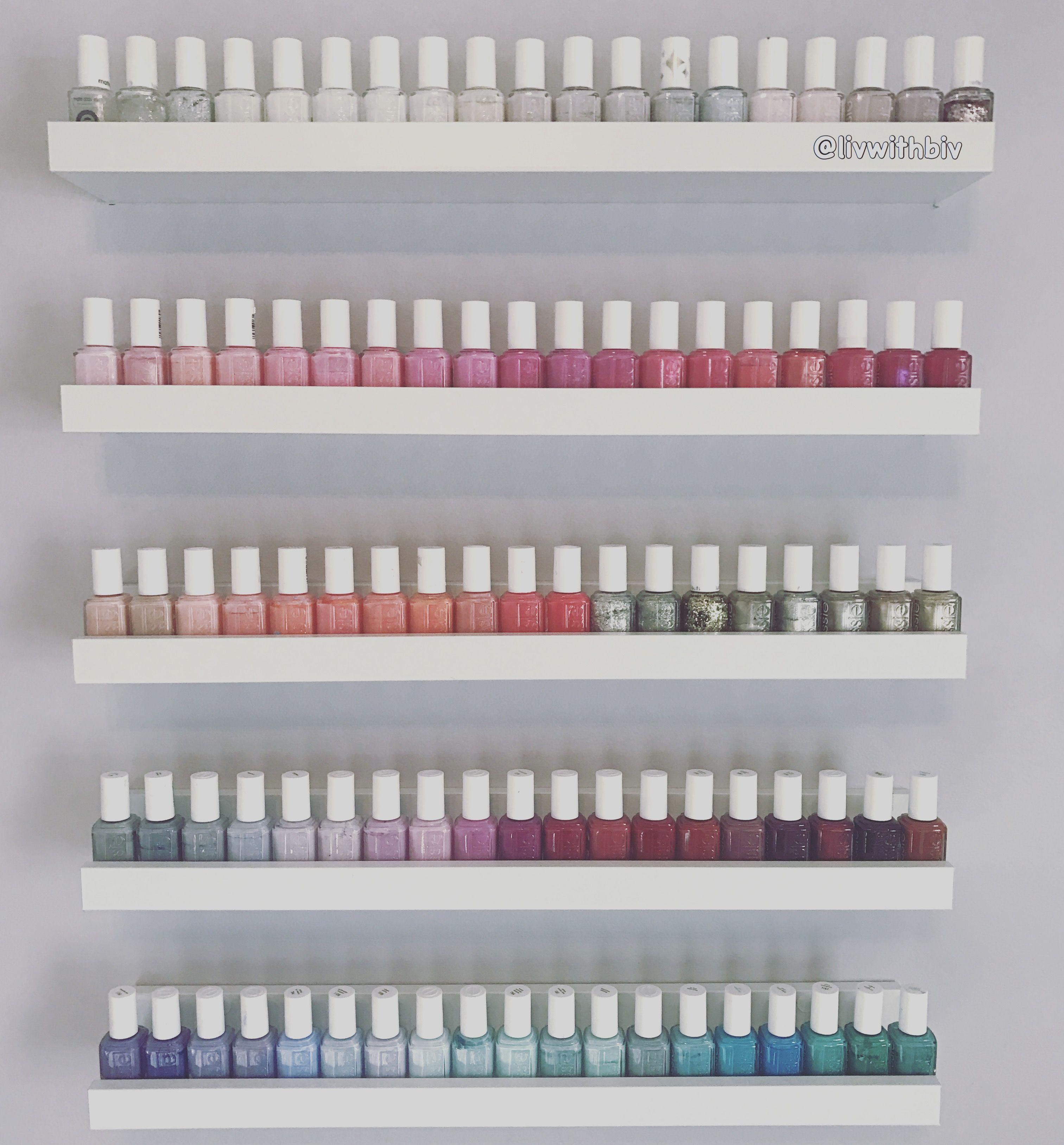 Got some of my Essie nail polishes organized!!!! | Essie | Pinterest ...