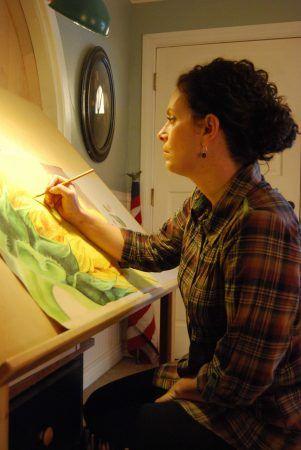 Kearny artist finds beauty in the small details