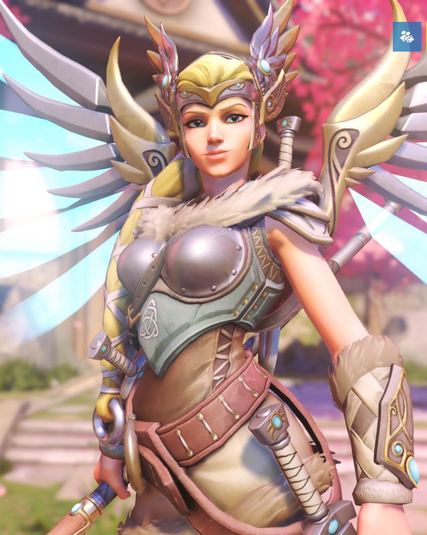 Mercy Valkyrie Skin