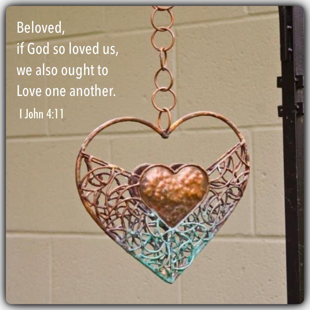 I John 4:11