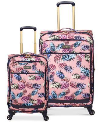 9dfb530ff0 Jessica Simpson Pineapple Luggage Collection | macys.com | Pineapple ...