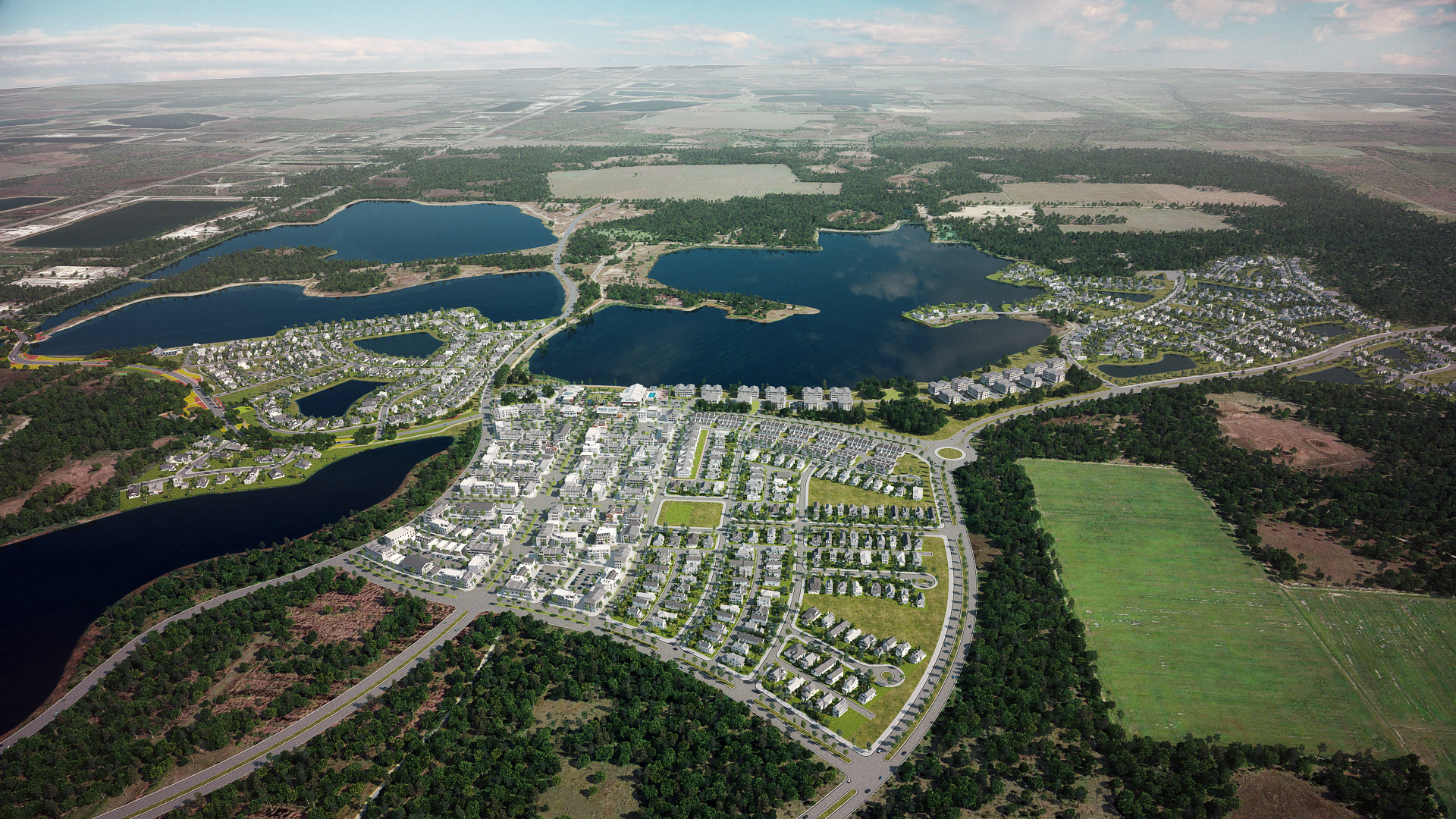 A Solar Powered Eco City For 50 000 Breaking Ground In Florida Curbed Eco City Sustainable Community City