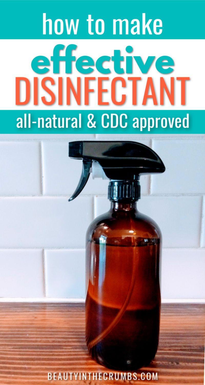 diy antibacterial spray for mattress