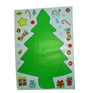 arboles de navidad adhesivos
