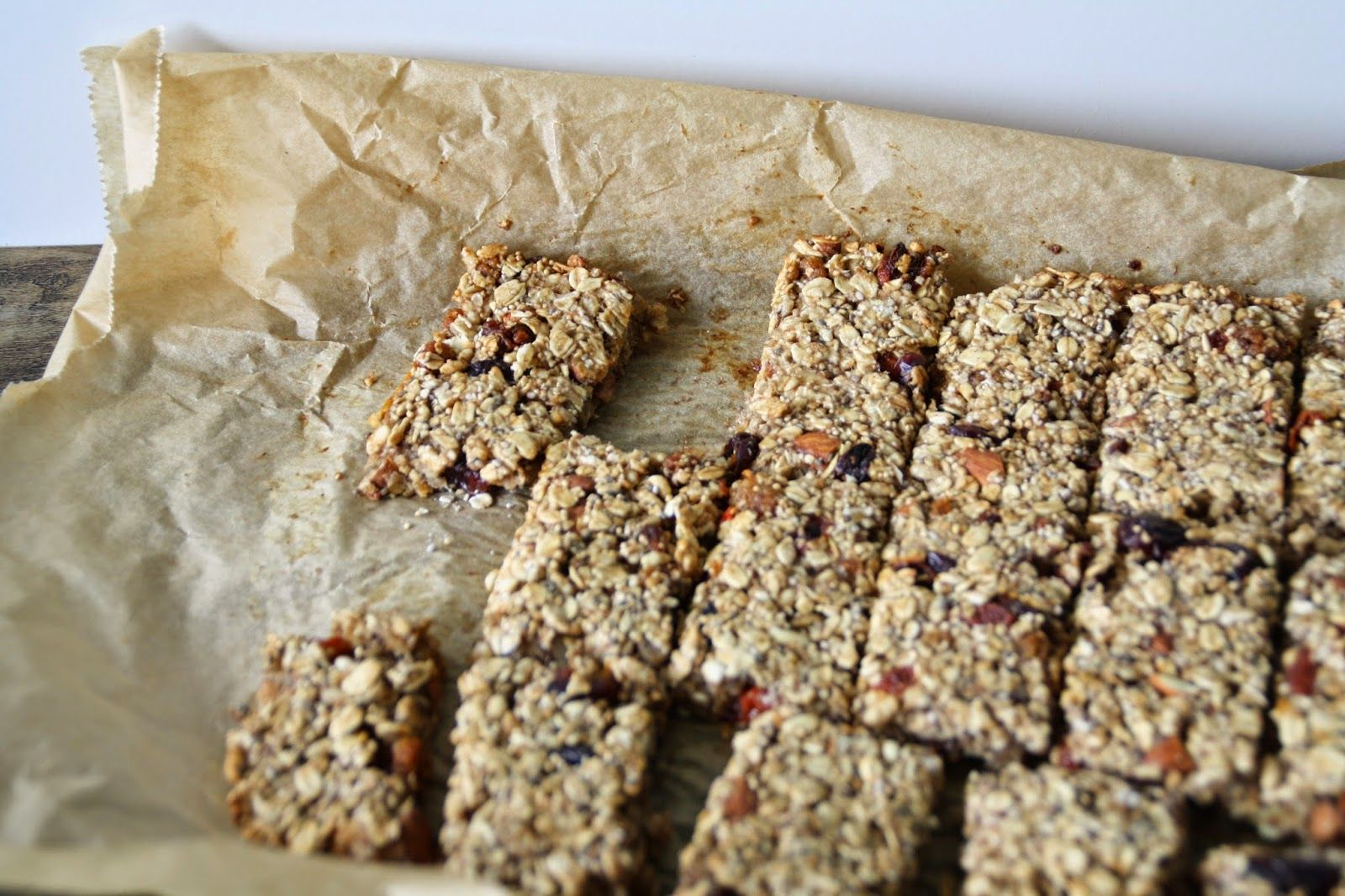 Melis colorful students Kitchen: Homemade granola bars