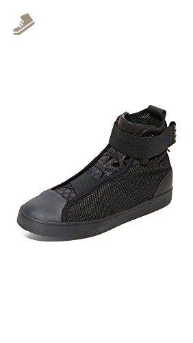 Y-3 Women's Y-3 Loop Court High Sneakers, Black, 4.5 UK - Adidas sneakers for women (*Amazon Partner-Link)