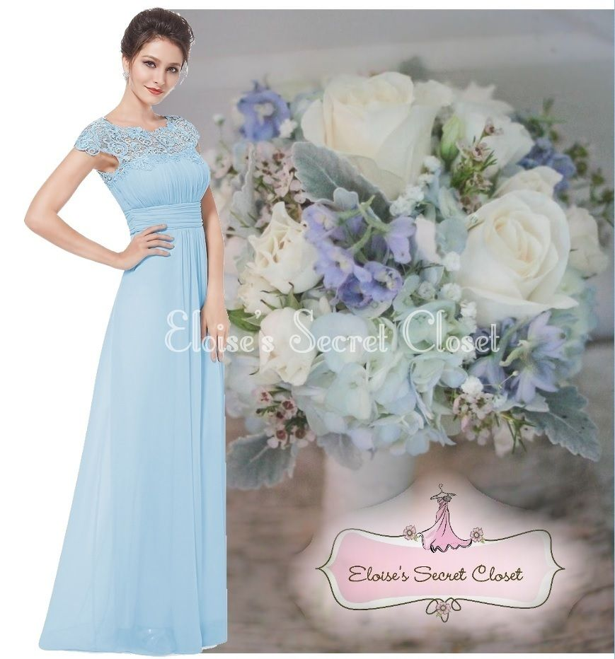 Katie baby blue lace full length maxi prom evening bridesmaid katie baby blue lace full length maxi prom evening bridesmaid dress eloises secret ombrellifo Gallery