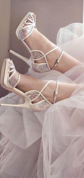 Jimmy Choo Bridal 2016 via @jena1125. #JimmyChoo #bridal