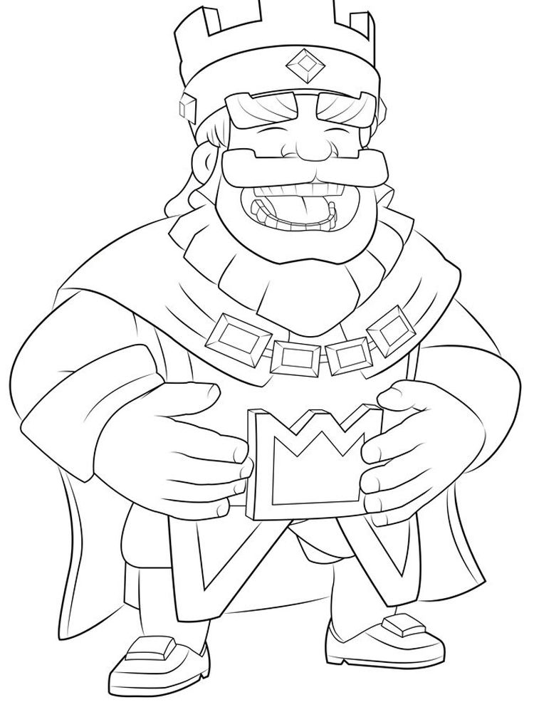 Clash Royale Coloring Pages Legendary Clash Royale Is A Tower Rush Based Video Game Where 2 4 Competing P Desenhos Para Colorir Paginas Para Colorir Colorir