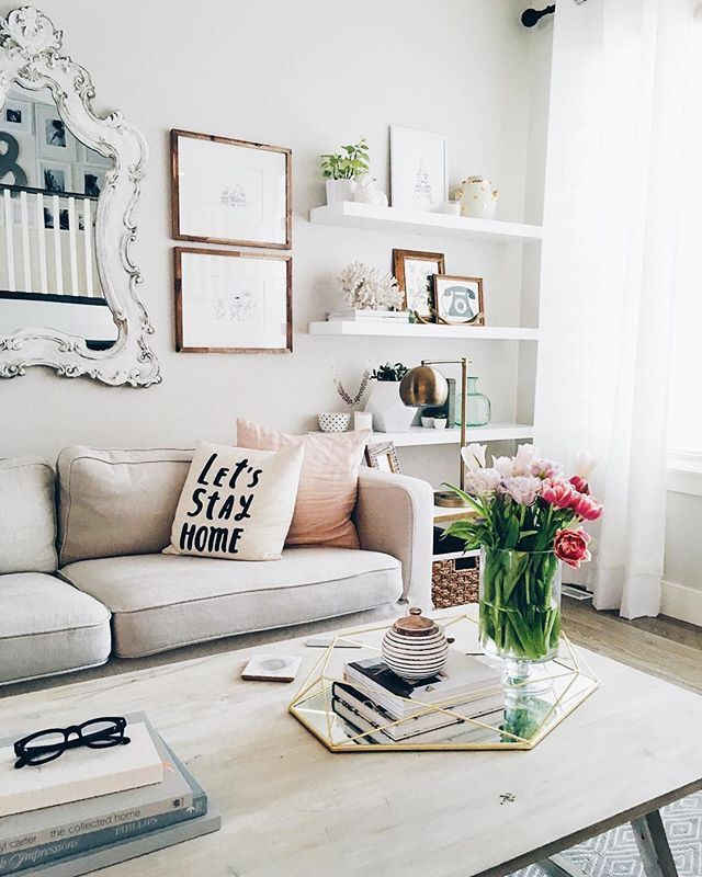 Shelves Like This In Living Room Near Window Closest To Door Amusing Clean Living Room Design Inspiration