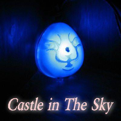 天空の城ラピュタ 光る飛行石 光の力 バルスモード搭載 cafe de donguri Castle In The Sky Neon Signs Ghibli