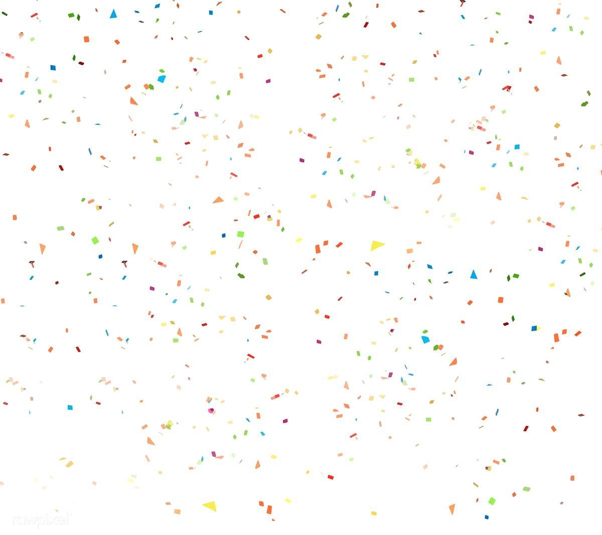 Download Premium Psd Of Colorful Confetti Wallpaper 6547 Confetti Background Confetti Wallpaper White Confetti
