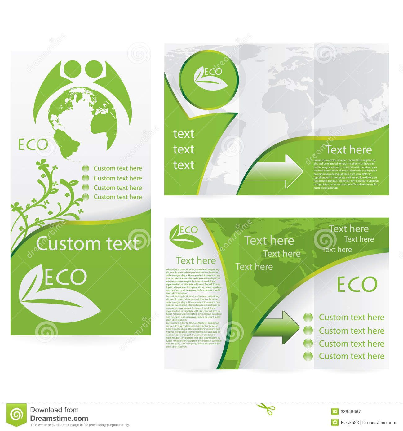 Brochure Inspiration Layout And Color Vectorbrochurelayout - Brochure template ideas