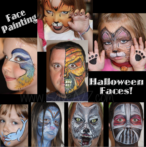 Halloween face painting ideas and tutorials halloween face face halloween face painting ideas do it yourself face painting supplies tricks and tips for face painting birthday parties face painting ideas and solutioingenieria Image collections