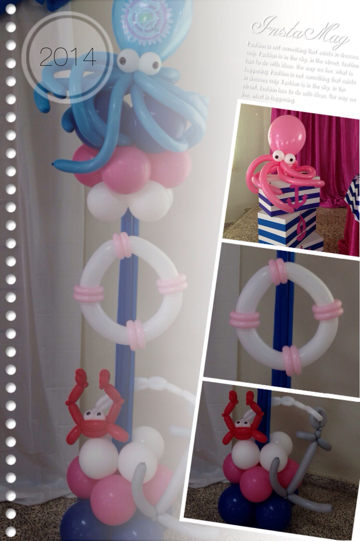 Nautical Girl Balloon ⚓ nauticalgirlballoondecoration