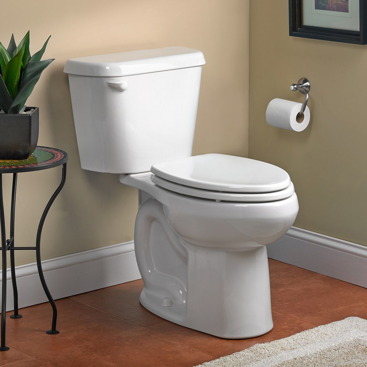 Toilets Colony Round Front Toilet 12 Rough In 1 6 Gpf White American Standard Toilet Seat Traditional Toilets