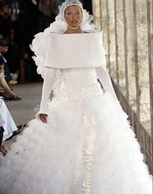 Best 25+ Ugly wedding dress ideas on Pinterest | Princess wedding ...