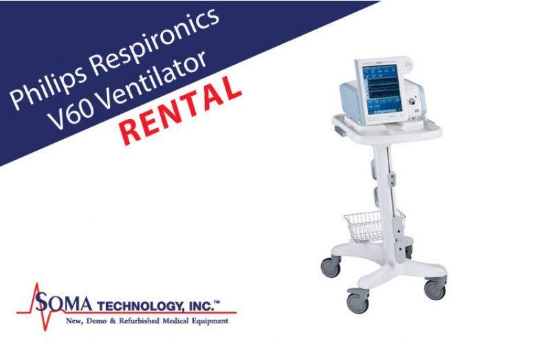 Philips Respironics V60 Ventilator Rentals Medical Equipment Refurbishing Medical