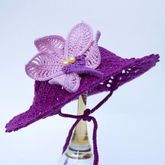 573a0b30f84f6 Sombrero para perro Orquídea