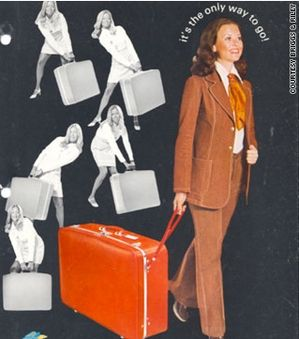 1970: Wheeled luggage is invented by US businessman Bernard D ...