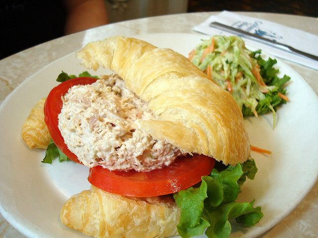 Tuna Salad Sandwich from the Plaza Restaurant on Main Street, USA in the Magic Kingdom, Walt Disney World, Florida