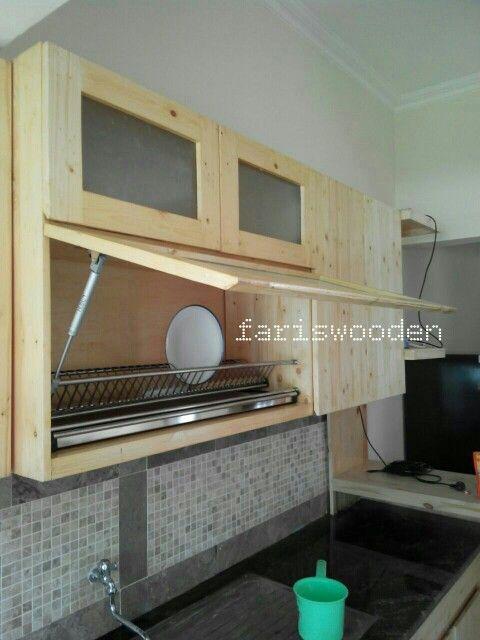 Kitchen Set Atas Dekorasi Rumah Rumah Rak Dinding