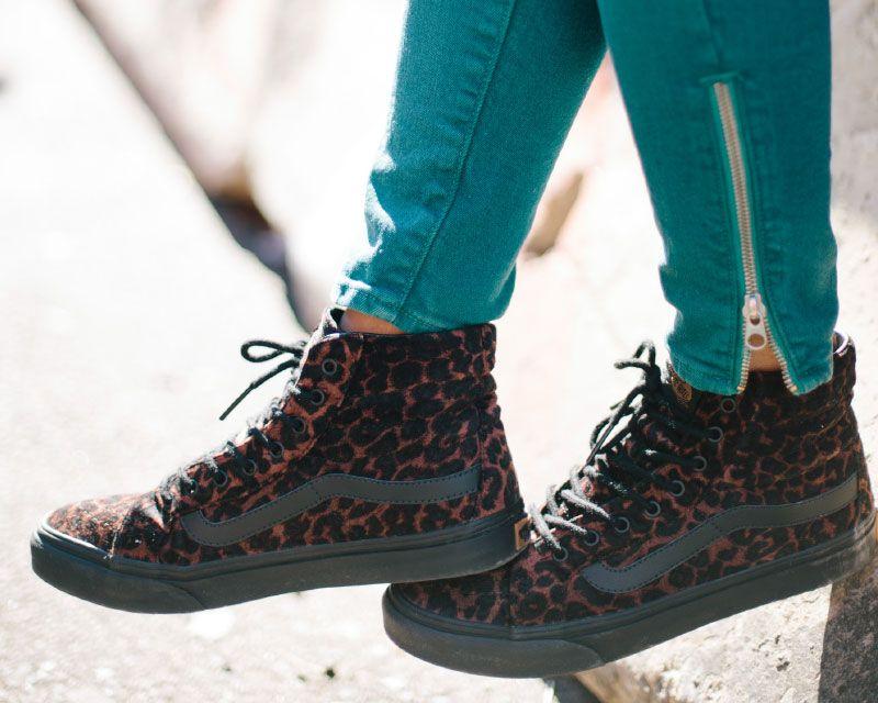 vans leopard sk8 hi