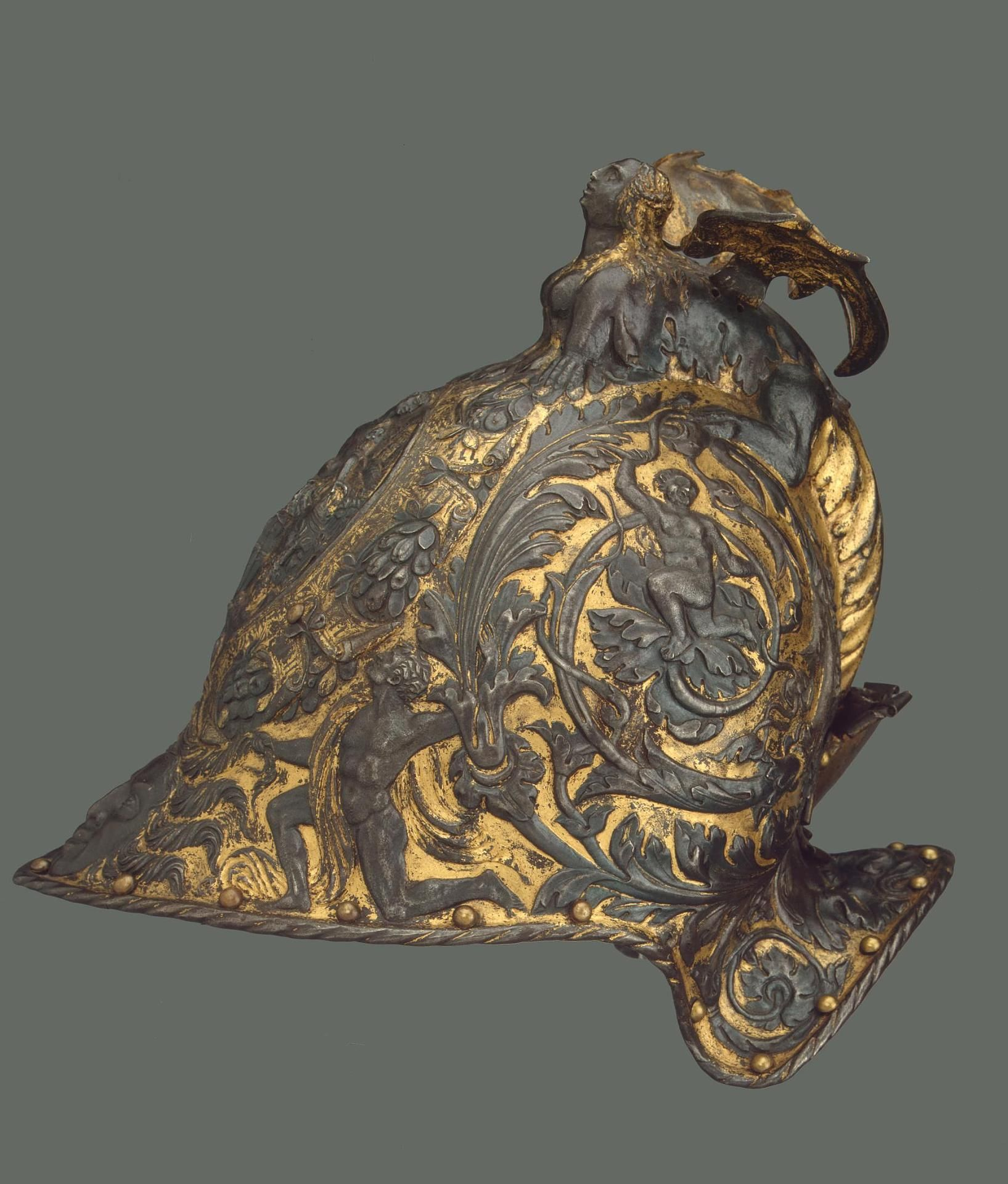 Burgonet Helmet Author: Country: Italy Collection: Arms