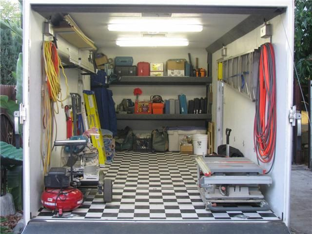 Pin By Wayne Thrash On Tailed Ideas Trailer Storage