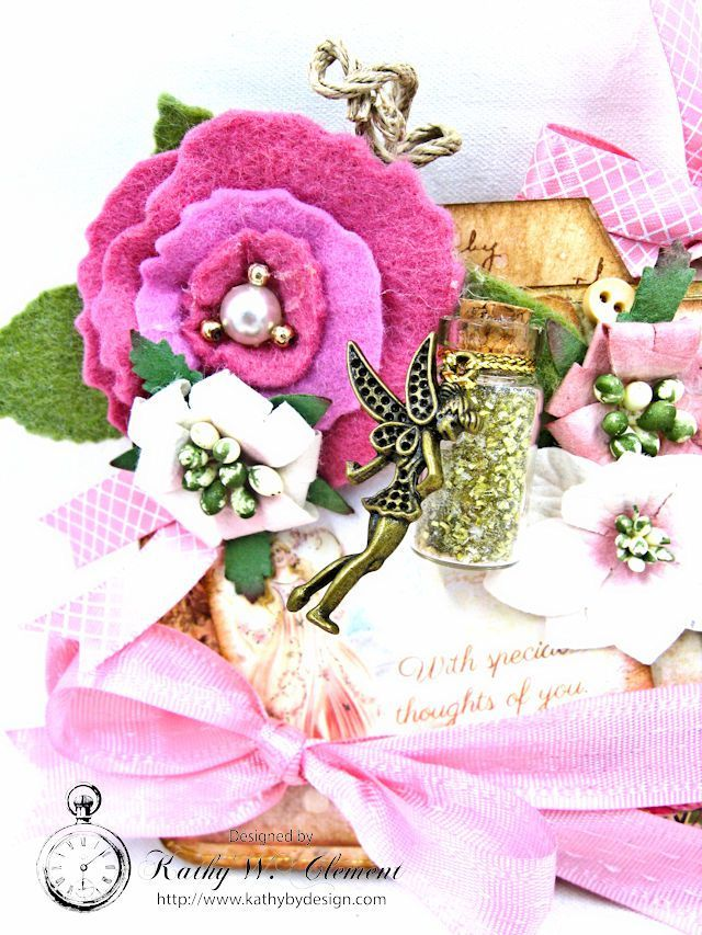 Fairy Happy Birthday Wishes Gift Card Wallet By Kathy Clement Photo 5