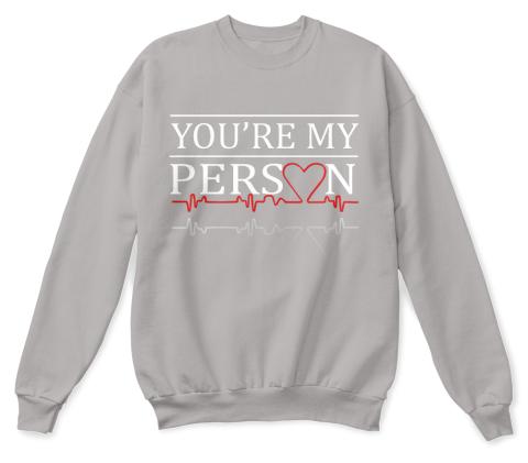 Grey/'s Anatomy Cristina Yang Derek Shepherd You/'re My Person Quotes Hoodie