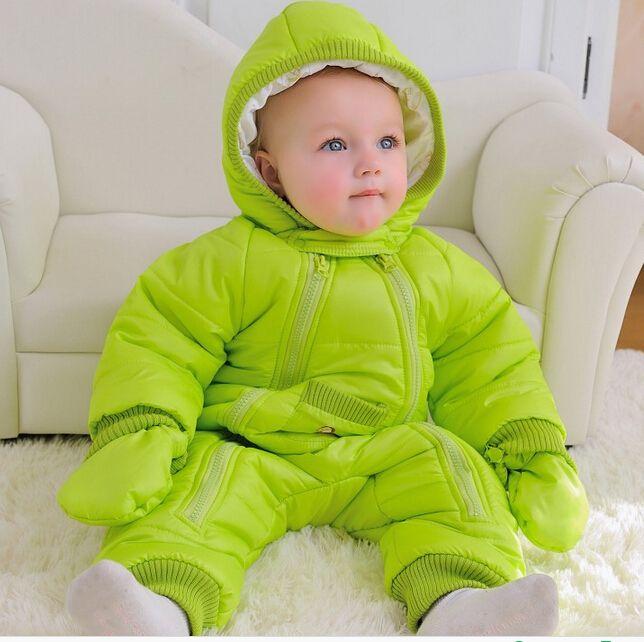 a651dc1feae9 2017 new baby jumpsuit autumn winter snowsuit jacket kids overcoat ...