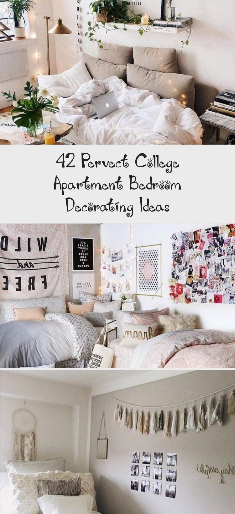 42 Pervect College Apartment Bedroom Decorating Ideas Apartment Bedroom In 2020 Apartment Decorating College Bedroom Apartment Bedroom Decor College Bedroom Apartment