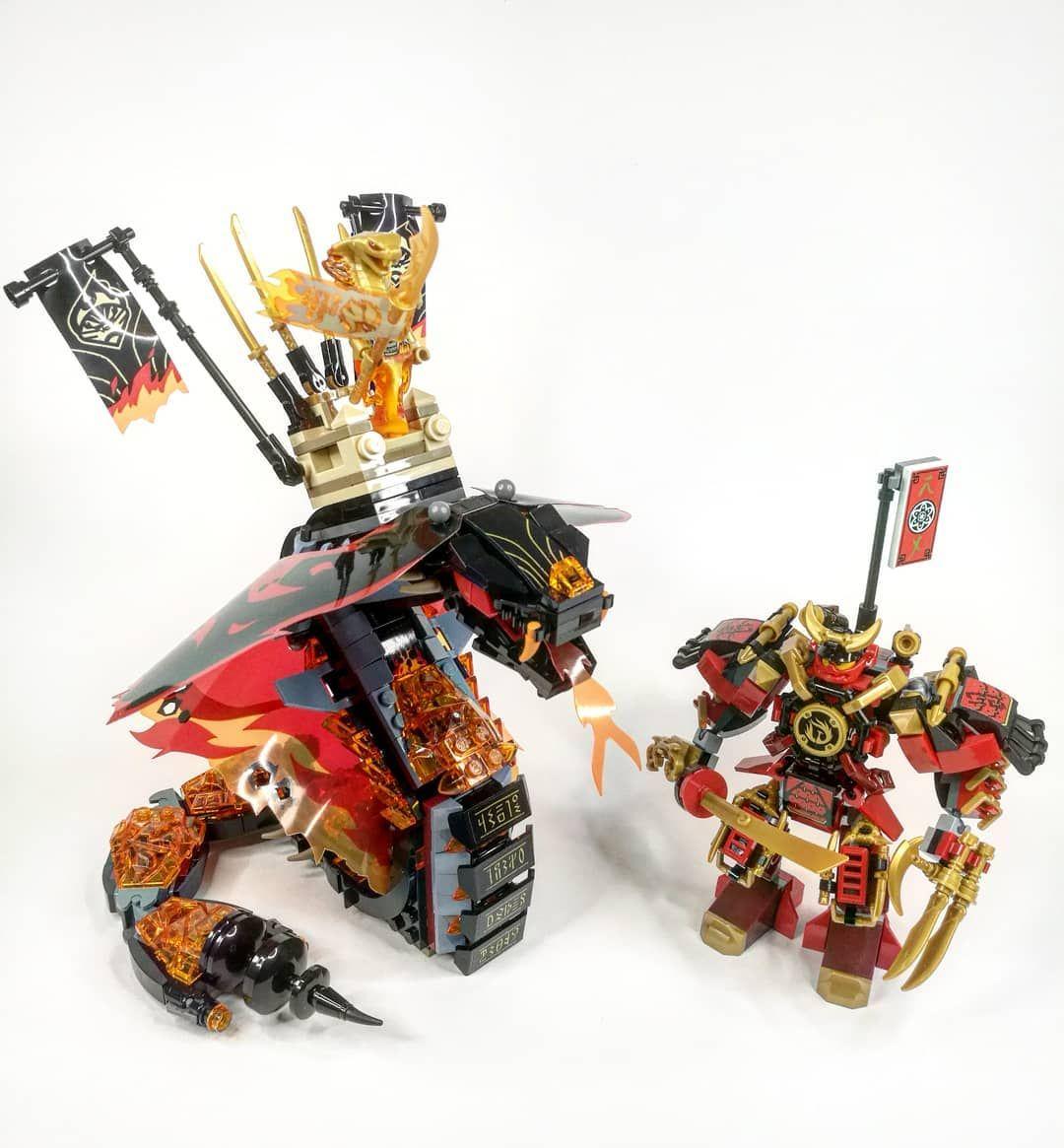 Aspheera vs Samurai X Mech #lego #legostagram #instalego # ...