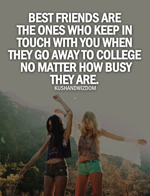 Friendship Quotes College | Quotes Ring