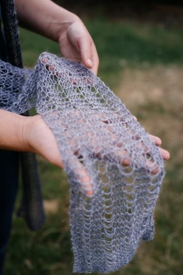 Drop Alpaca Scarf Knitting Patterns And Crochet Patterns From