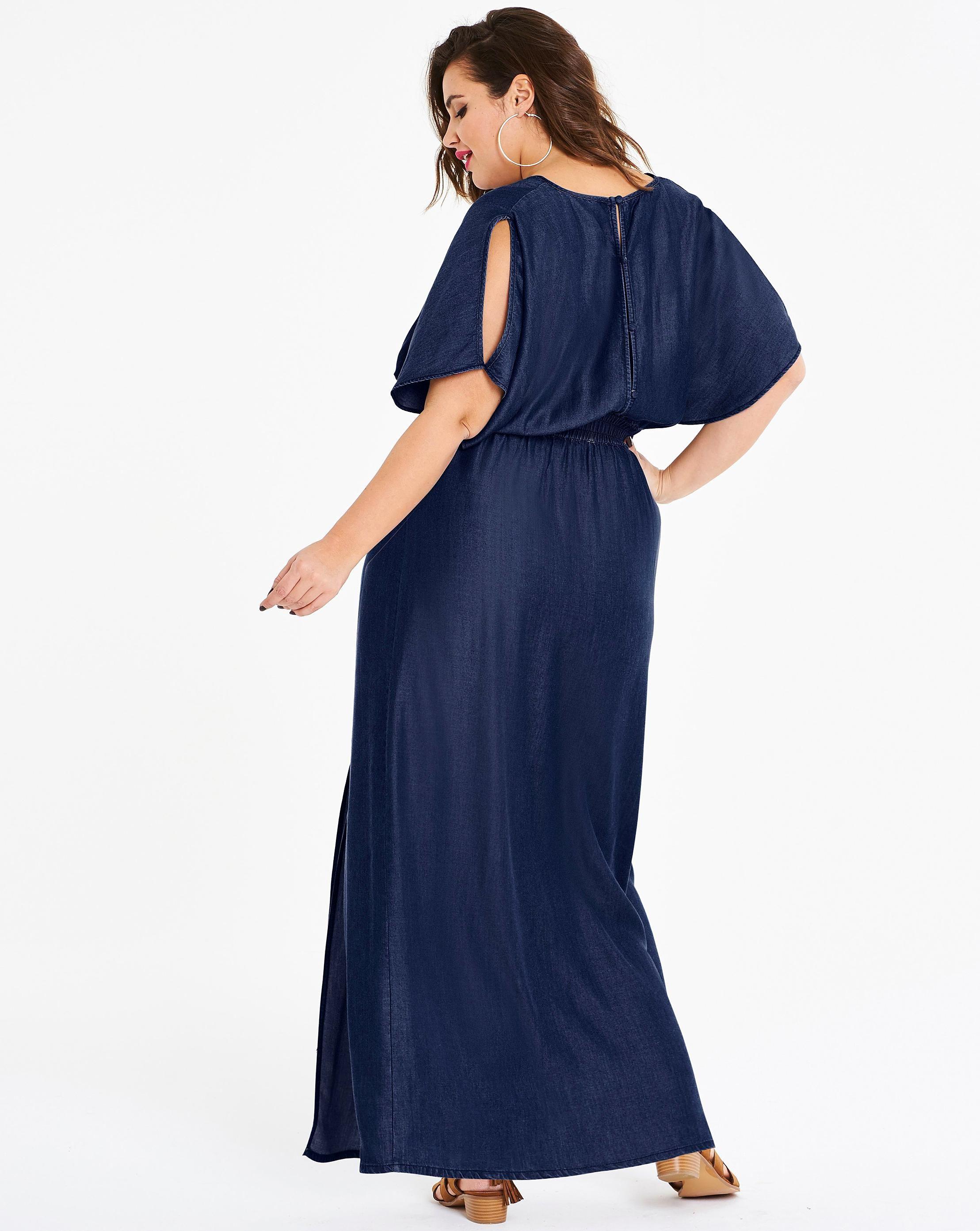 5c3916098edb76 image-2 | Emma Sanders | Shoulder dress, Dresses, Cold shoulder dress