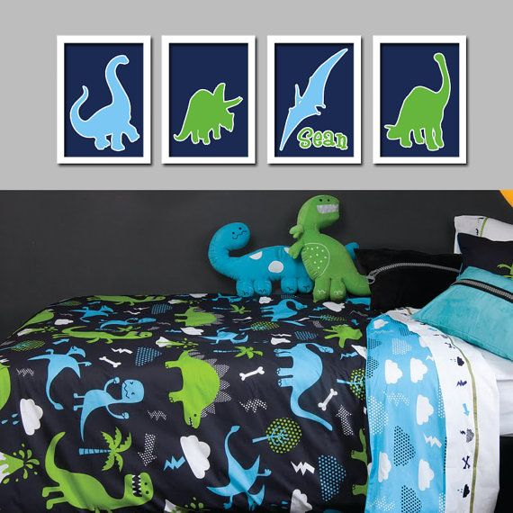 The 25 best dinosaur bedding ideas on pinterest for Dinosaur pictures for kids room