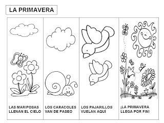 Poesía De Primavera Escuela Actividades De Primavera Primavera
