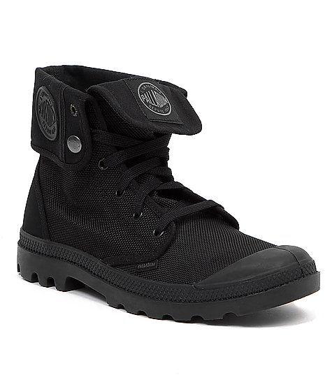 Palladium Monochrome Baggy Boot Men S Shoes Buckle Mens Accessories Fashion Boots Boots Men