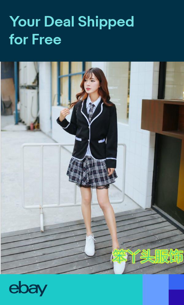 Details about  /Sexy Lingerie School Girls Student Cosplay Fancy Dress Uniform Halloween Costume