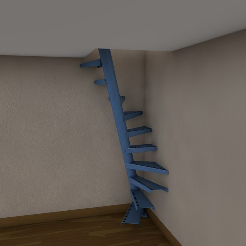 Best 3D Model Of Real Floating Spiral Staircase Diseño De 400 x 300