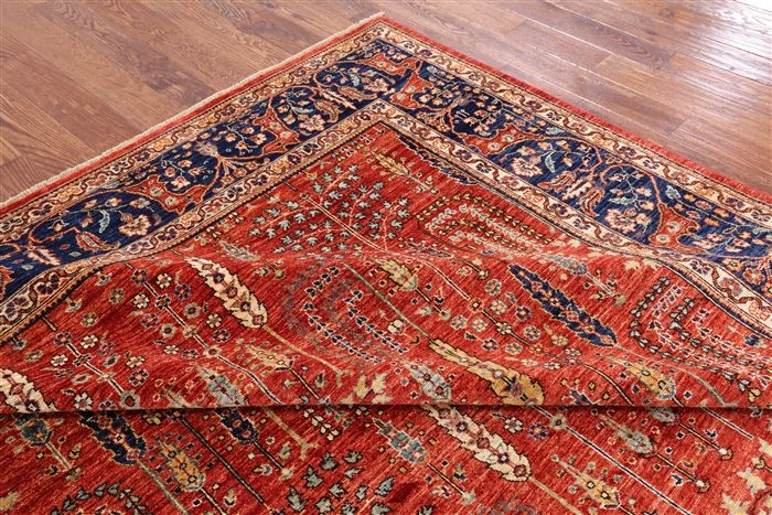 Persian Ziegler Hand Knotted Area Rug 9 X 12 P9317 In