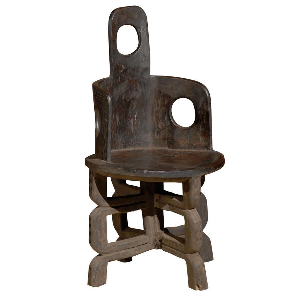 African Chair, Tanzinia, Makonde Tribe