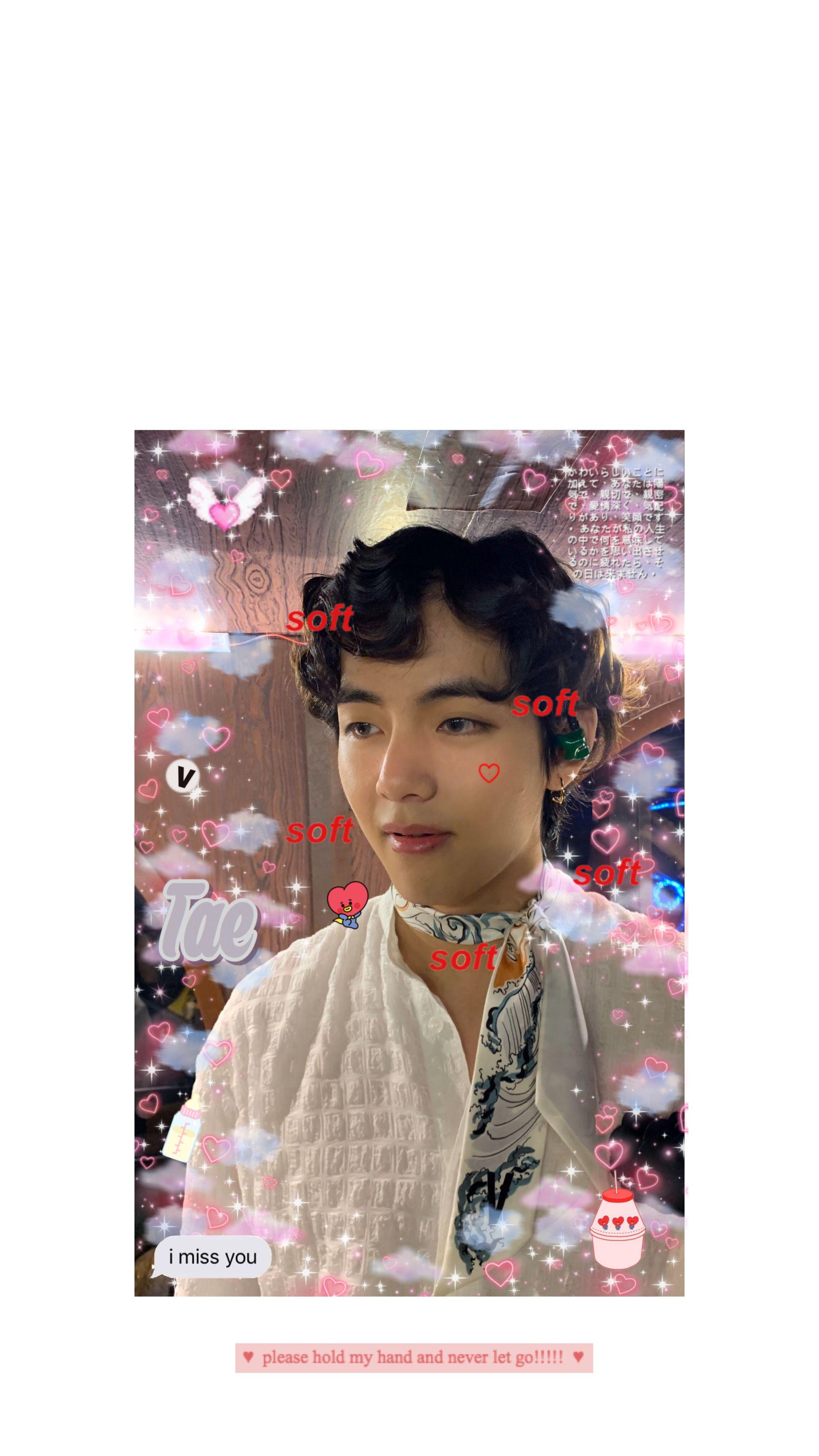 Soft Cute Messy Taehyung Kimtaehyung V Btsv Bts Army Bangtan Aesthetic Kpop Wallpaper Lockscreen In 2020 Bts Lockscreen Aesthetic Girl V Taehyung