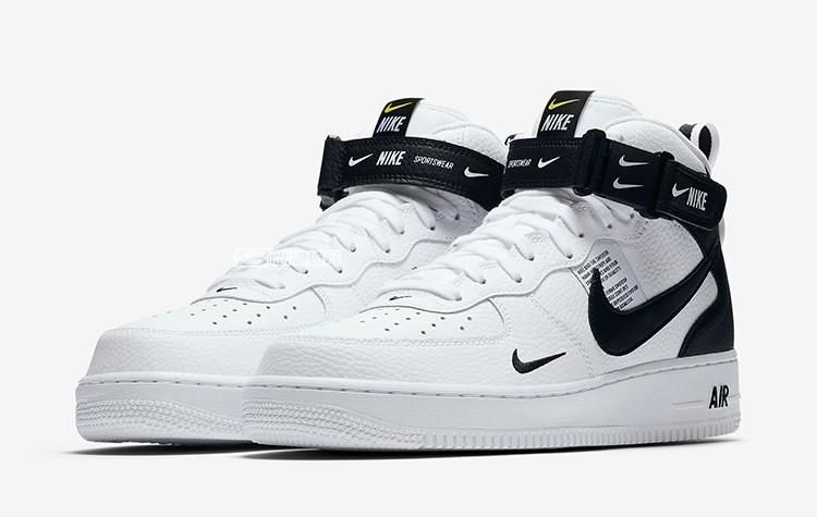 Nike Air Force 1 High Top Just Do It With Images Nike Air